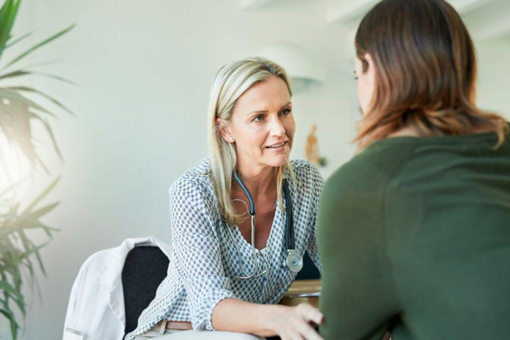 Clínica de recuperação para mulheres